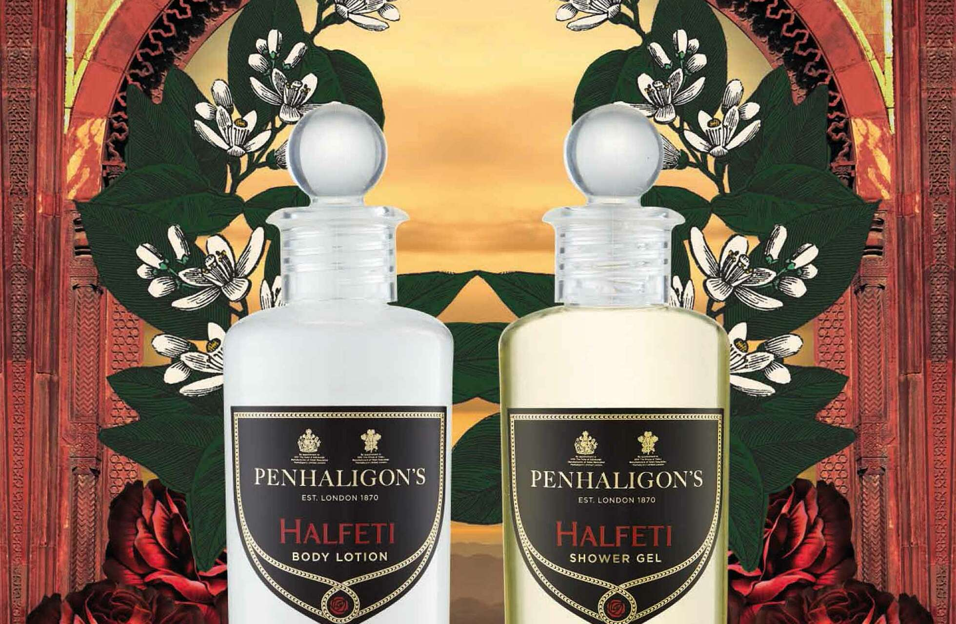 "Bath & Shower Gel 100ml ""PENHALIGON´S HALFETI"""