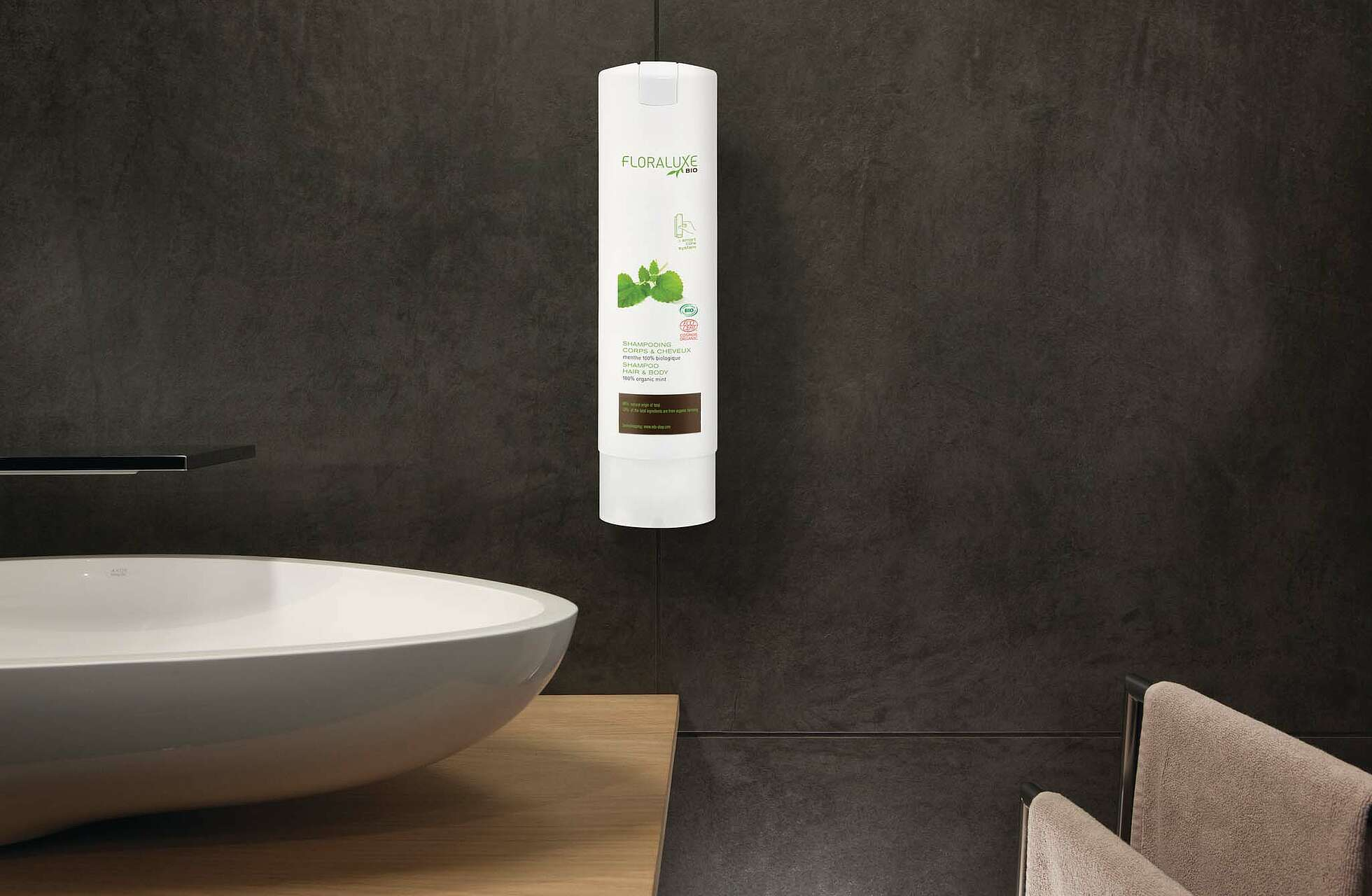 "Shampoo Hair & Body ""Floraluxe Bio"" Smart Care System"
