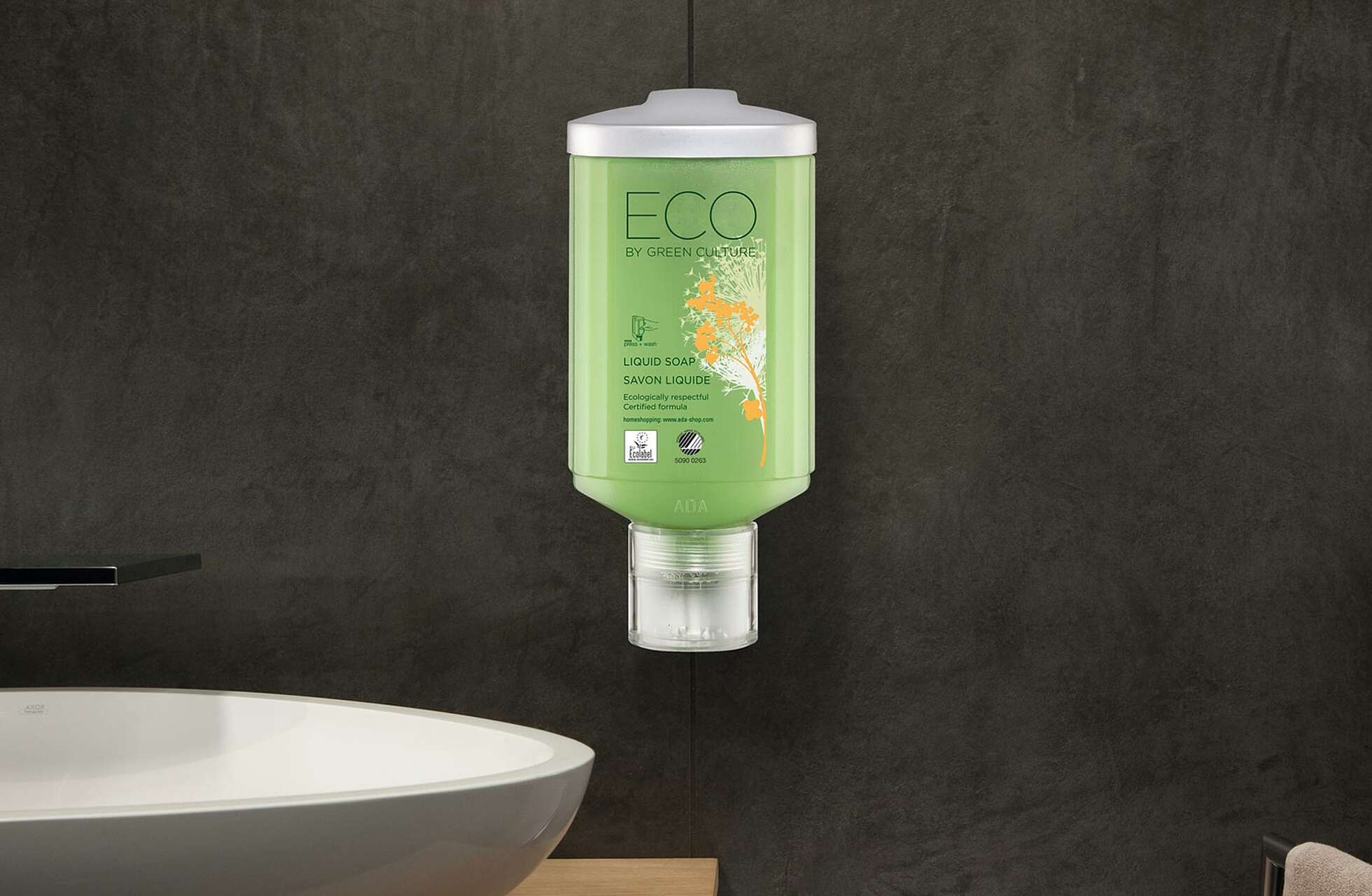 "Shampoo Press + Wash ""Eco Green"""