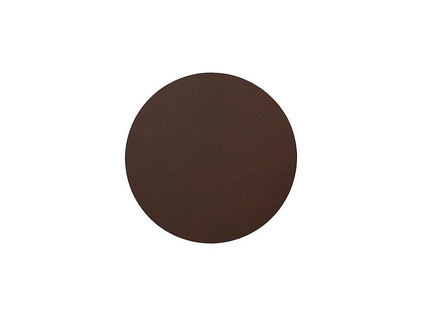 Tischset Circle S Nupo Dark Brown