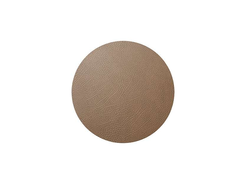 Tischset Circle M Hippo Brown
